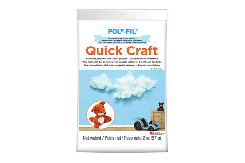 Quick Craft Poly-Fil® Fiber Fill 2 oz. Bag (Case of 6)