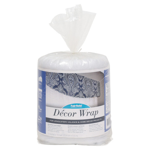 Décor Wrap Upholstery Batting – 10″ x 15 ft package