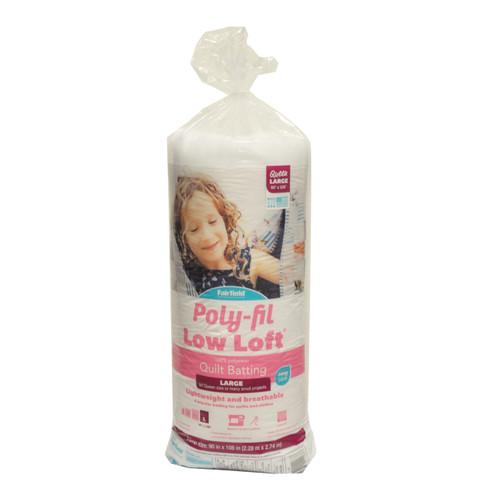Poly-Fil Low-Loft® Bonded Polyester Quilt Batting