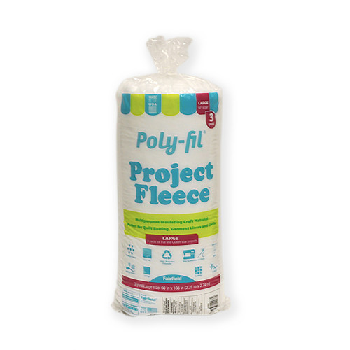 Poly-Fil® Project Fleece™ Needlepunched Craft Batting