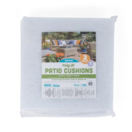 Poly-Fil® Patio Foam 22″ X 22″ X 2 – 2 Pk Case (12)
