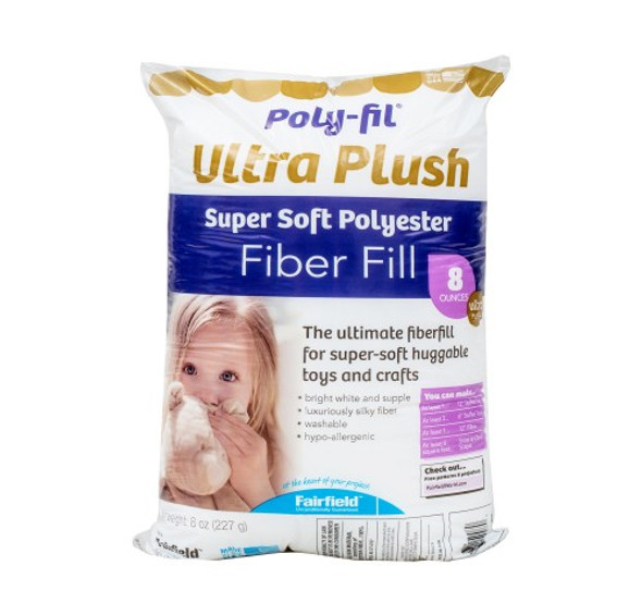 Poly-Fil Supreme Ultra Plush polyester fiberfill stuffing material