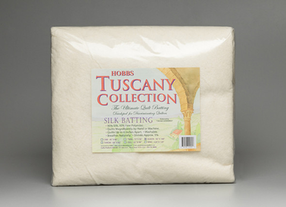 Hobbs Tuscany Silk 90% and  10% fine polyester fibers