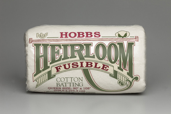 Hobbs Heirloom Fusible 80% 20% Cotton Polyester Quilt Batting