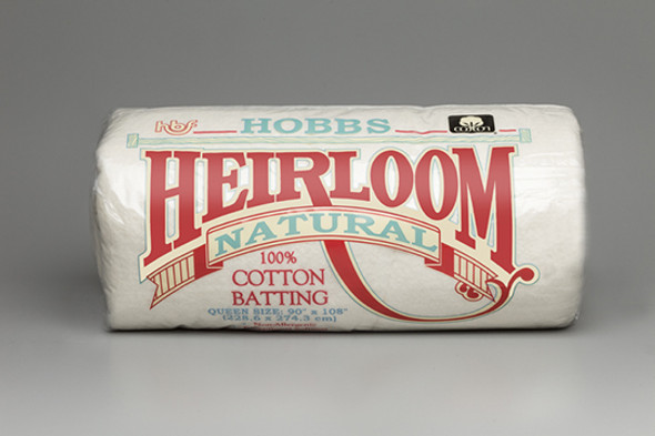 Hobbs 100% Natural Cotton Quilt Batting BY THE ROLL