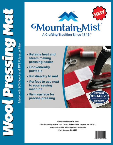 Mountain Mist Wool Pressing Mat