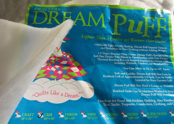 Quilters Dream Dream Puff Bonded Polyester Quilt Batting by the Roll