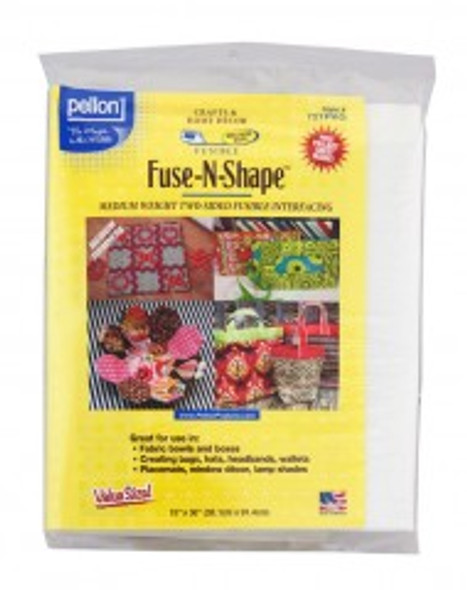 Pellon 721PKG Fuse-N-Shape Medium weight 2 sided fusible stabilizer 15 x 36