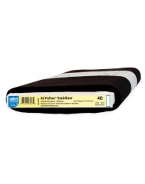 Pellon 40 Midweight Stabilizer Black