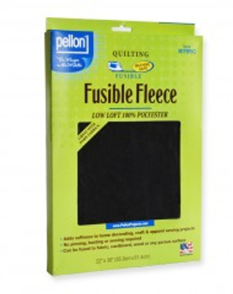 Pellon 987F Fusible Fleece Package Black