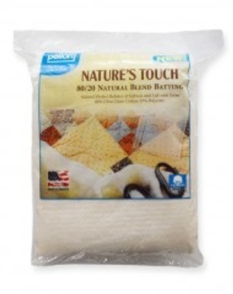 Pellon 80-20 Natural Blend with Scrim Quilt Batting Package