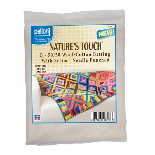 Pellon Q Wool & Cotton Quilt Batting Size