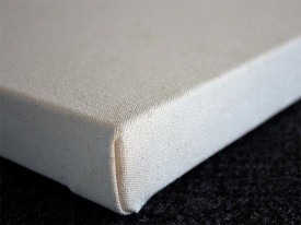 Custom Stretched 12oz Unprimed Canvas