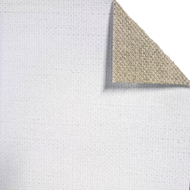 470GSM Italian High Quality Rough Tooth Triple Primed Linen - 2.10m x 10m