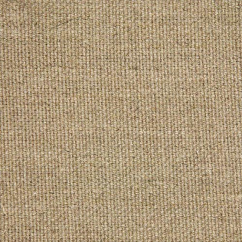 Belle Arti #81 - Medium 432GSM Loomstate Raw Unprimed Italian Linen - 2.2m x 10m