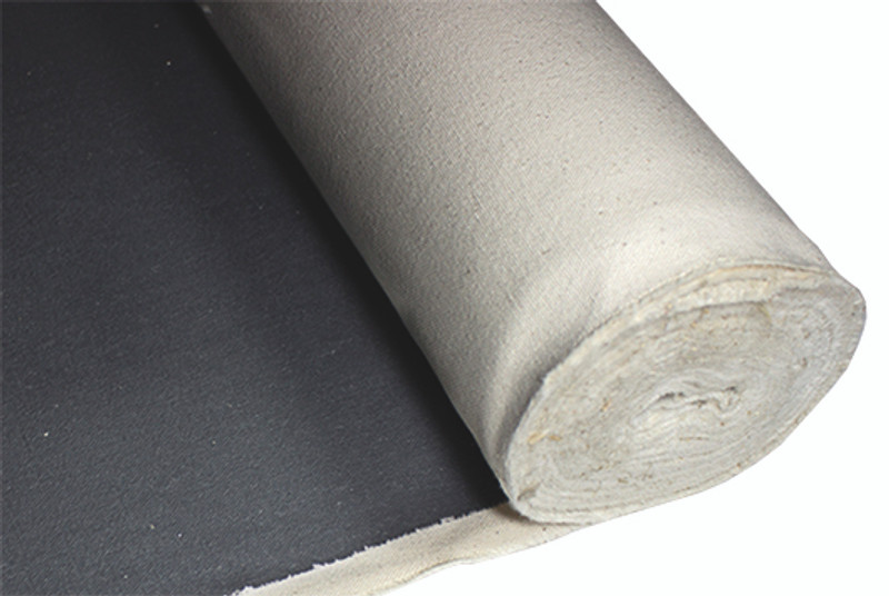 8oz Black Gesso Double Primed Canvas Rolls