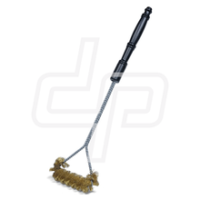 "B308C - 21"" Spiral Wide Faced Heavy Duty Grill Brush"