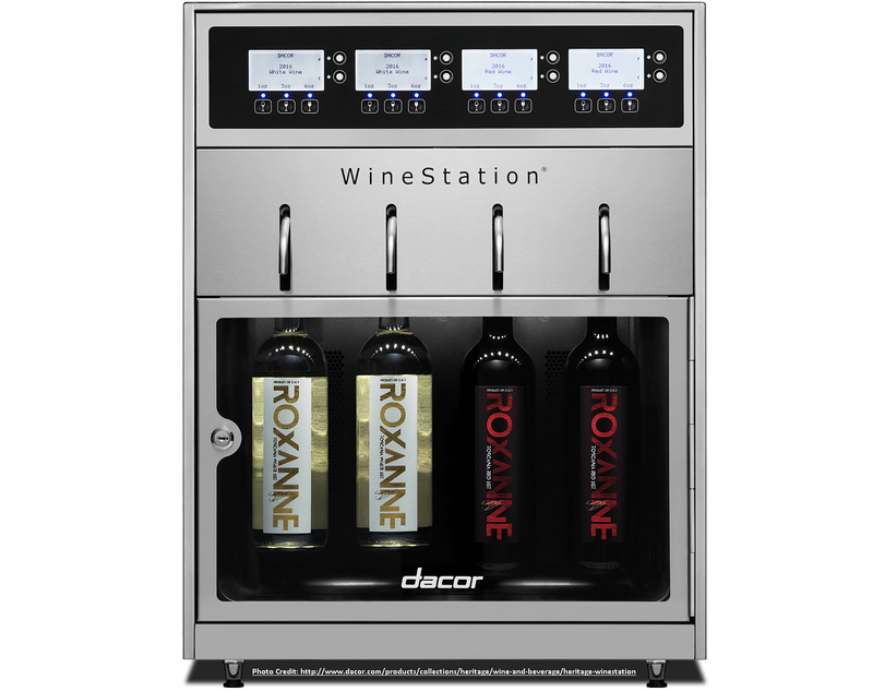 The Dacor Heritage WineStation