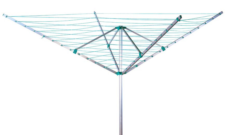Rotary Outdoor Clothes or Garment Airer, 50 Metre Drying Space