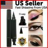 Winged Eyeliner Stamp Waterproof Long Lasting Liquid Eyeliner Pen Eye Makeup Kit