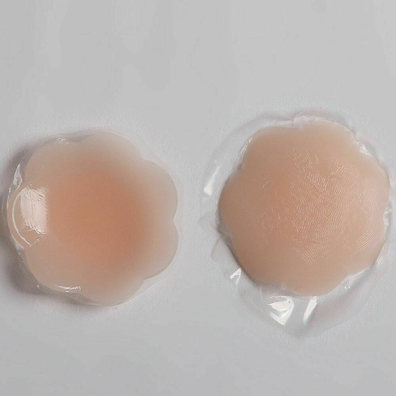 5 Pairs Nippleless Cover Pasties Women Reusable Adhesive Silicone Nipple Pads