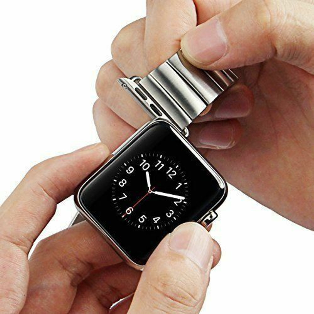 38mm 42mm Watch Band Connector Adapter Stainless Steel For Apple Watch iWatch US