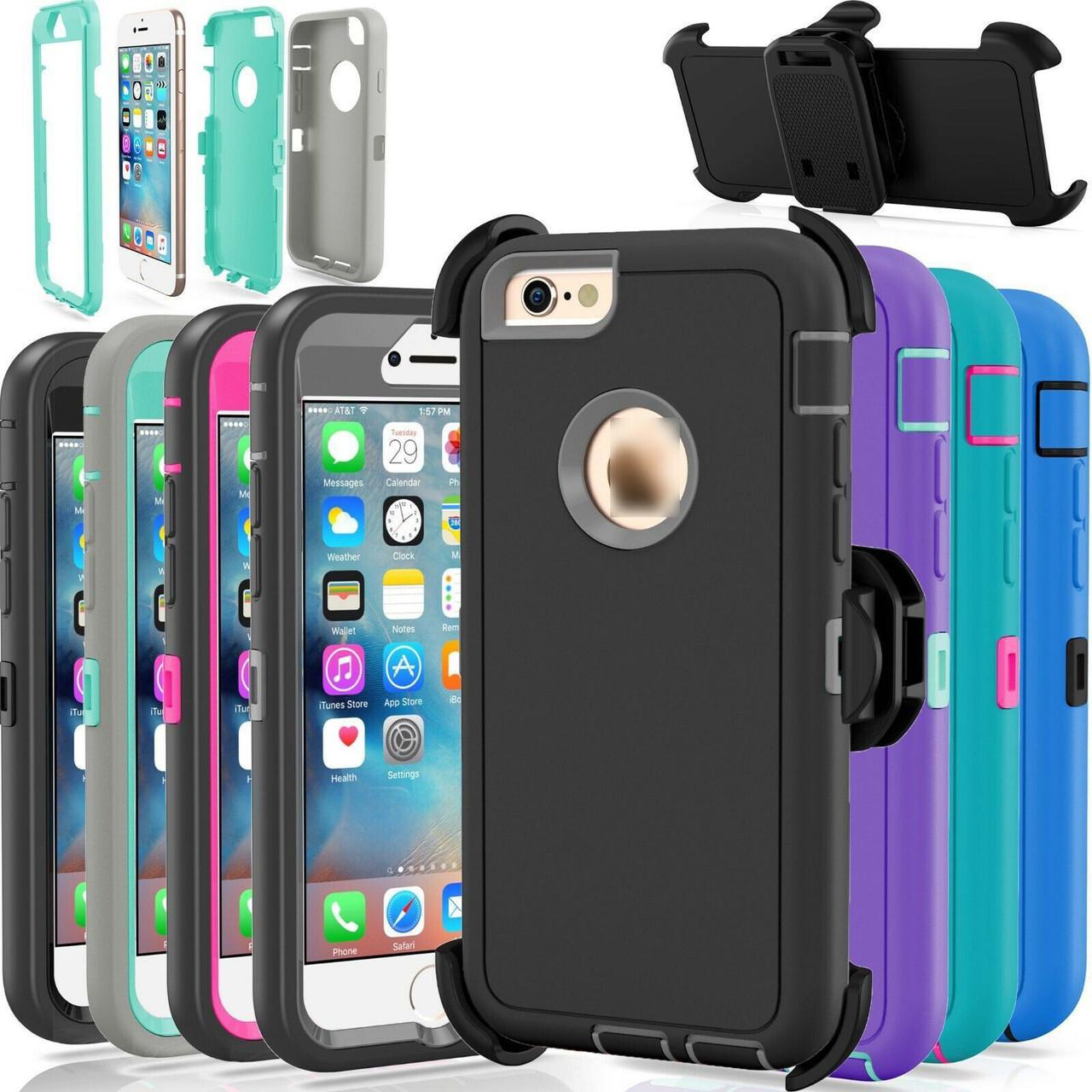 For Apple iPhone 6 Plus 6S Plus Case Cover (Fits Otterbox Defender Belt Clip)