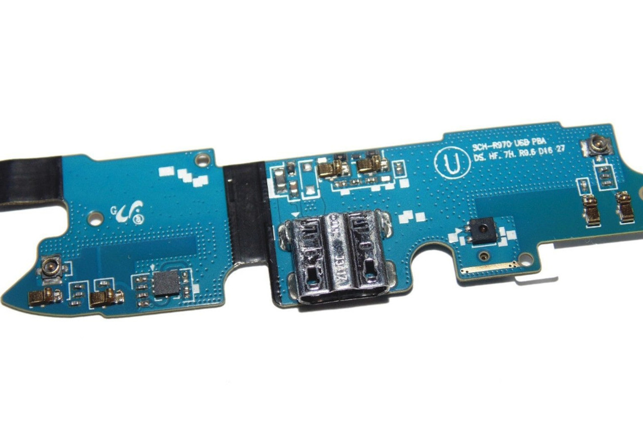 OEM Charging Port Dock USB Connector Mic Flex Cable For Samsung Galaxy S4 R970