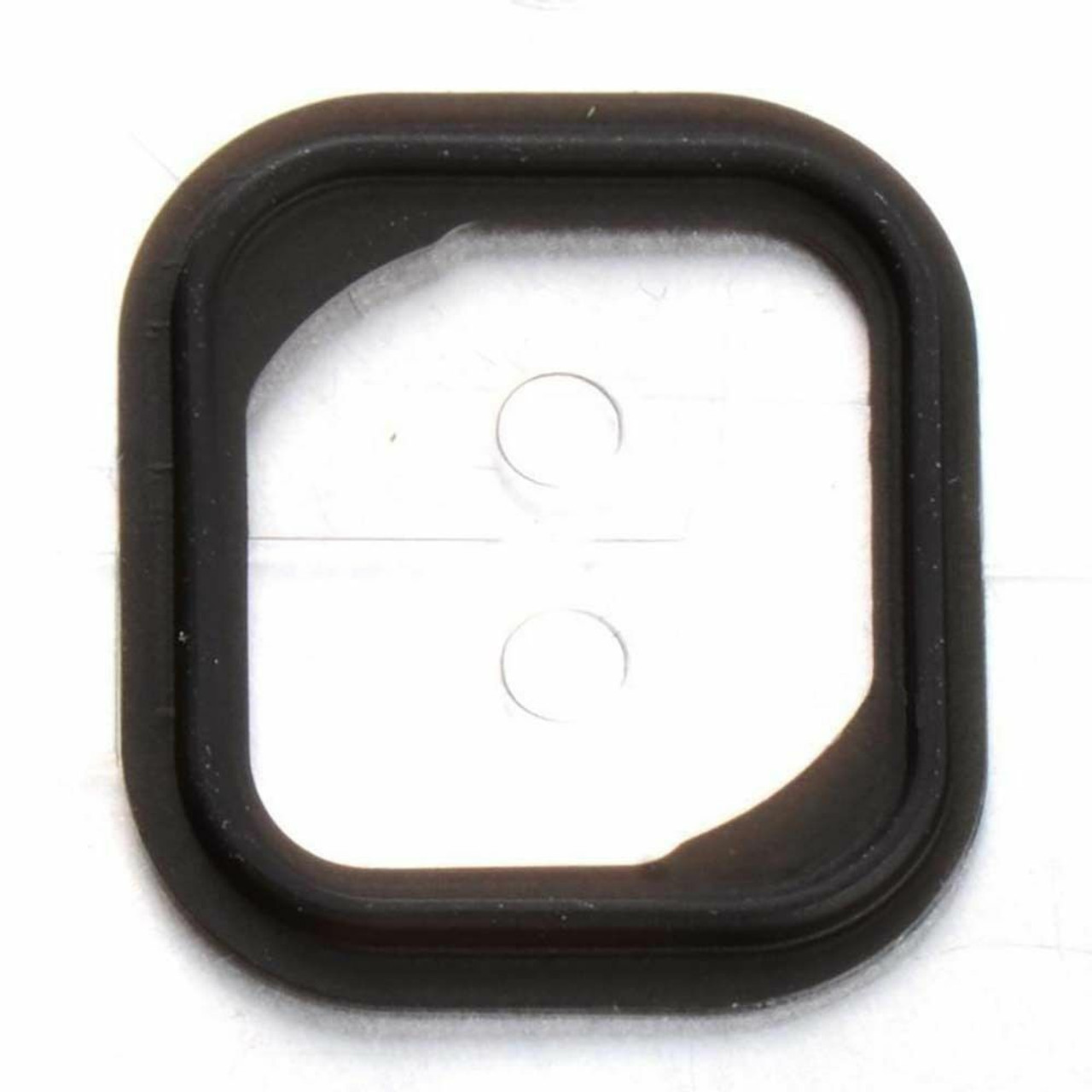 10x Replacement Rubber Gasket Home Button Holder Adhesive Sticker For iPhone 5S