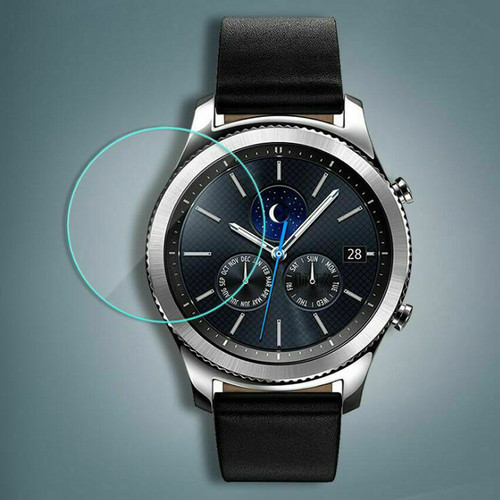 3-Pack Tempered Glass Film Screen Protector For Samsung Gear S3 Frontier Classic