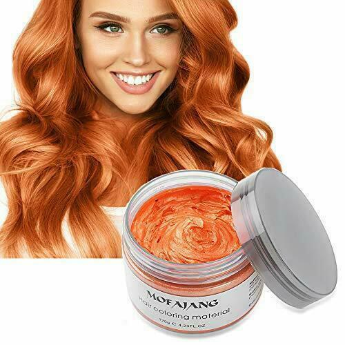 Unisex DIY Hair Color Wax Mud Dye Cream Temporary Modeling 9 Colors Mofajang