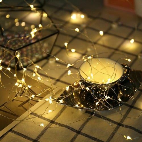 2M 5M 10M 100 LED Christmas Tree Fairy String Party Lights Lamp Xmas Waterproof