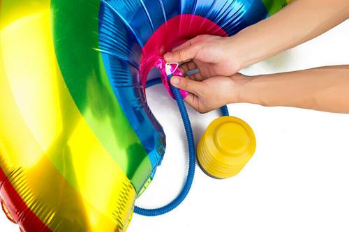 Foot AIR PUMP Sport Balls Air Bed Pool Inflatables Yoga Pilates Rafts Quick Fill