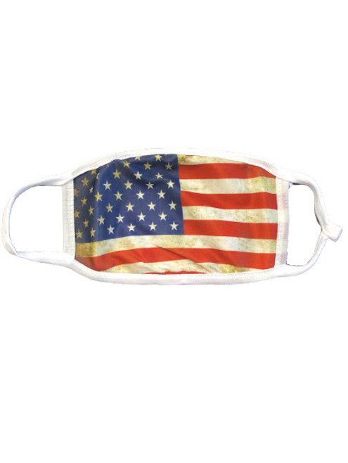 American Flag Bald Eagle Patriotic Reusable Protection Face Cover TRUMP Mask KAG