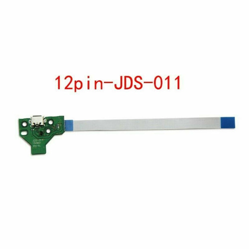 NEW 12 Pin USB Charging Port JDS-011 Board + Flex Cable For PS4 Controller A221