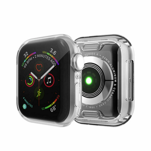 Full Case Clear Cover Screen Protector For Apple iWatch 5 4 3 2 Watch 38/42mm US