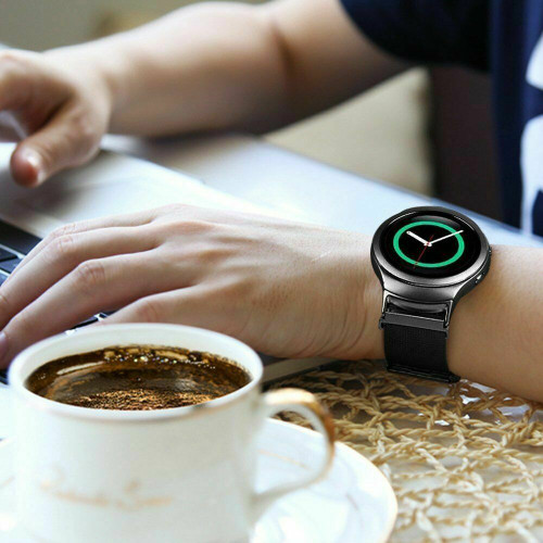 For Samsung Galaxy Gear S2 SM-R720 & SM-R730 Watch Band Bracelet Magnet Milanese