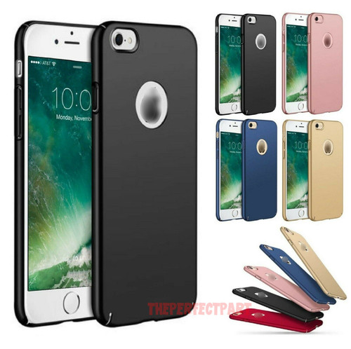 For iPhone 6 6S 7 8 11 Plus X XR XS Case Shockproof Ultra Thin Slim Hard Cover