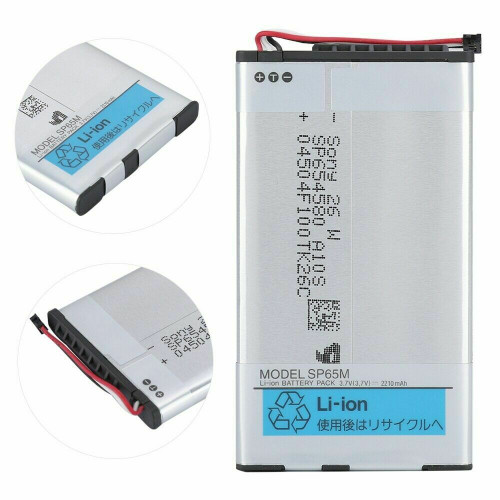 OEM New Rechargeable Battery For PS Vita PCH-1001 PCH-1101 SP65M 2210mAh 3.7V