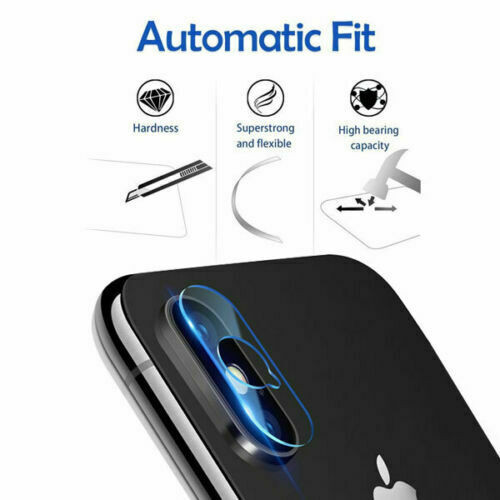Camera Lens Protector Tempered Glass Back Rear For iPhone XS Max XR X 8 7 Plus