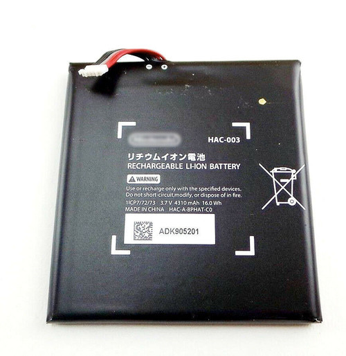 OEM Internal Battery HAC-003 4310mAh Replacement For Nintendo Switch Console