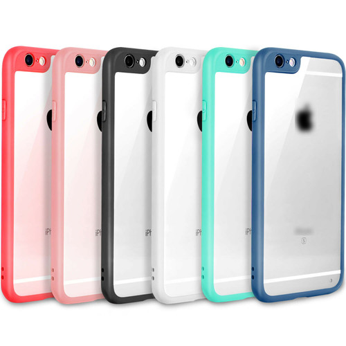 SLIM Crystal Clear Bumper TPU Ultra Thin Case Cover For iPhone 6 6S 7 8 Plus USA