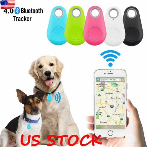 Mini Pet Dog Cat GPS Locator Tracker Tracking Anti-Lost Device Finder Bluetooth