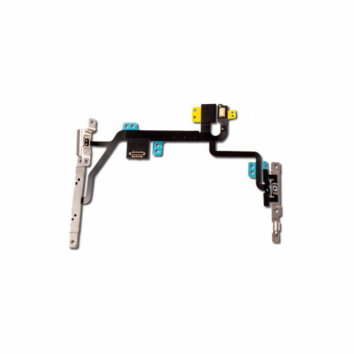 OEM SPEC Replacement Power Flex Cable with Volume Button Switch For iPhone 8 4.7