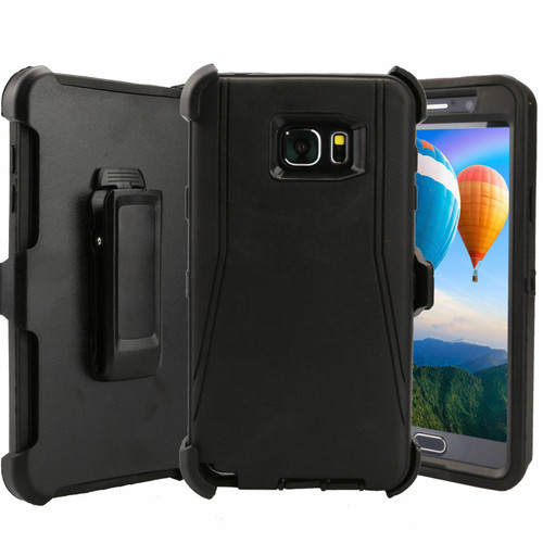 For Samsung Galaxy Note 5 Case Cover Shockproof (Fits Otterbox Defender Clip)