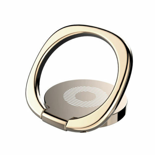 Gold 360° Universal Rotating Finger Ring Stand Holder Stand Mounts Cell Phone