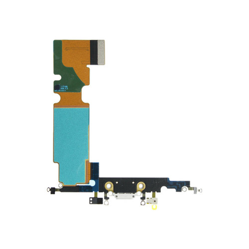 OEM SPEC Charging Port Dock Flex Cable Replacement For iPhone 8 Plus White NEW