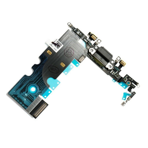 """OEM SPEC Charging Port Dock Flex Cable Replacement for iPhone 8 4.7"""" Black NEW"""