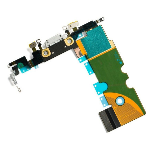 "OEM SPEC Charging Port Dock Flex Cable Replacement for iPhone 8 4.7"" White NEW"