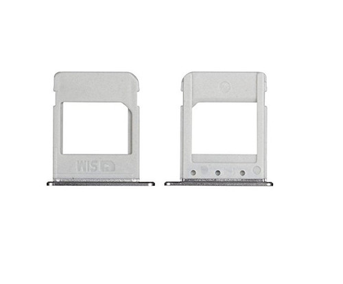 Sim Card Holder Sim Card Tray Replacement For Samsung Galaxy Note 5 N920 Silver